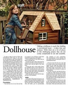 Doll House Plans - Wooden Toy Plans barn Pinterest