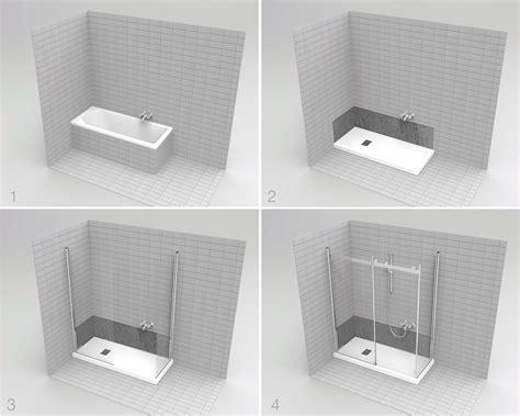 pannelli per doccia su vasca casabook immobiliare la vasca diventa doccia in poco