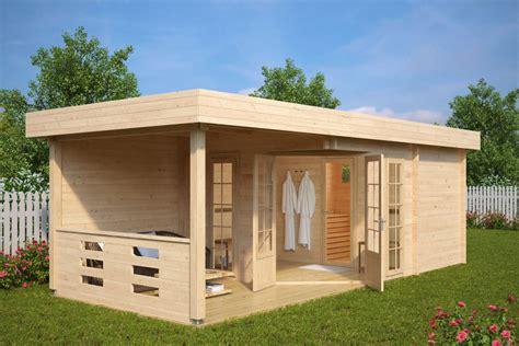 Sauna Cabin by Garden Sauna Cabin Paula 12 5m 178 44mm 7 5 X 3 2 M
