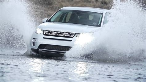 Wading Land Rover Wallpaper by Land Rover Discovery Sport Wading Through Water Road