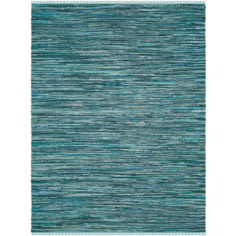 Turquoise Rag Rug by Safavieh Rag Rug Turquoise Multi 8 Ft X 10 Ft Area Rug