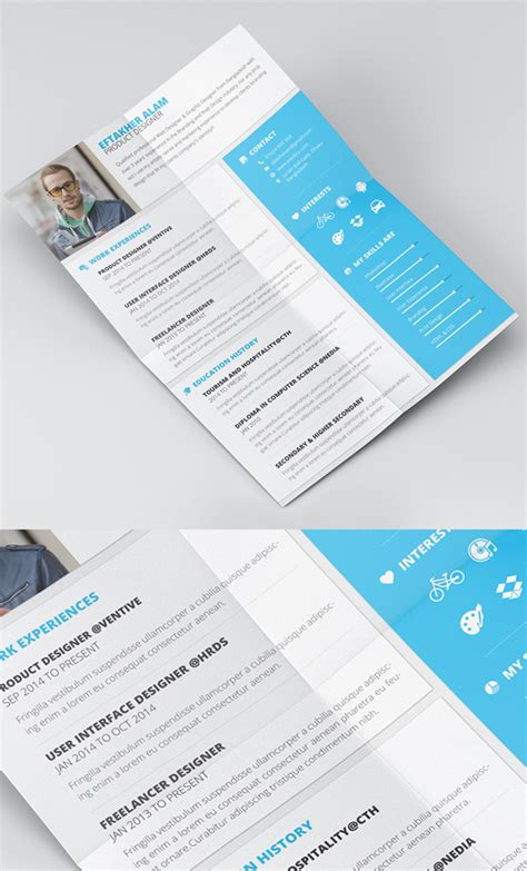 free cv resume psd templates freebies graphic design