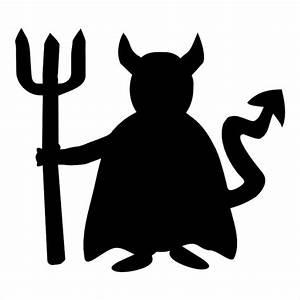 Halloween Devil Glitter Tattoo Stencil | Devil Tattoo ...