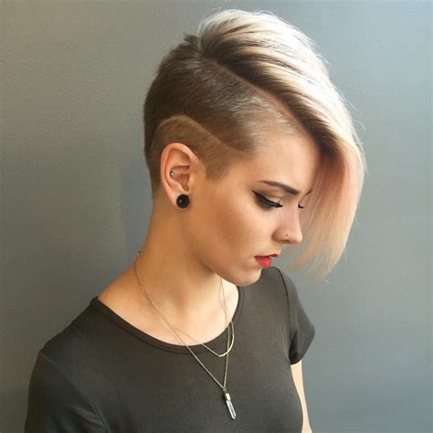 50 best shaved hairstyles for women in 2017 trends