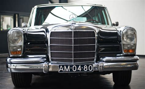 Brabus classic photobook with restoration and studio pictures. Mercedes Benz 600 Pullman Limousine - 1967