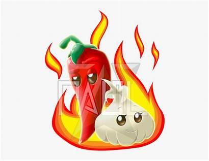 Garlic Chili Clipart Transparent Kindpng Cartoon Pngio