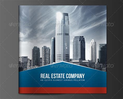 real estate brochures word  psd apple pages