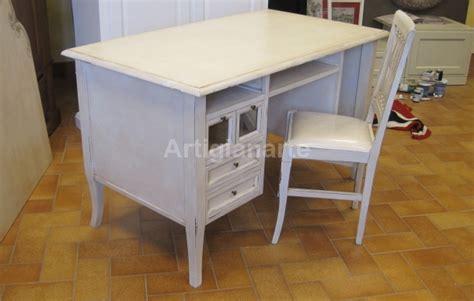 scrivania shabby scrivania shabby chic artigianarte