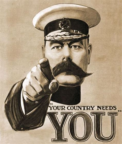 lord kitchener your country needs you your country needs you recruitment 1914 1910s uk lord 9709