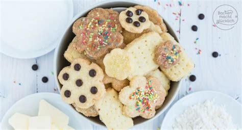 schnelle  zutaten kekse backen macht gluecklich