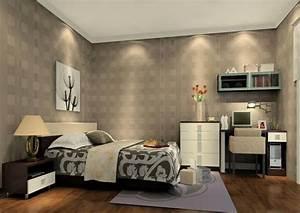 Interior home Bedroom over light wallpaper Ideas ...