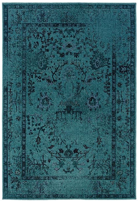 teal accent rug teal blue overdyed style area rug woodwaves