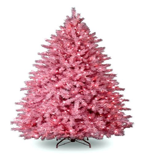 pre lit colored christmas trees princess decor