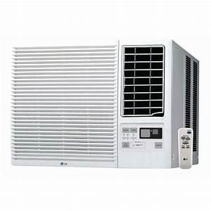 Lg Lw2415hr 23 500 Btu Window Air Conditioner Cooling  U0026 11 600btu Heating