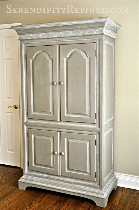 Painted Armoire Furniture Serendipity Refined Reader Painted Furniture Diy
