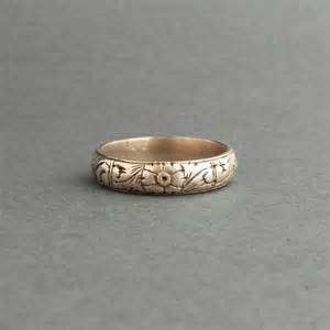 vintage mens wedding bands antique mens wedding ring 800 silver late georgian early
