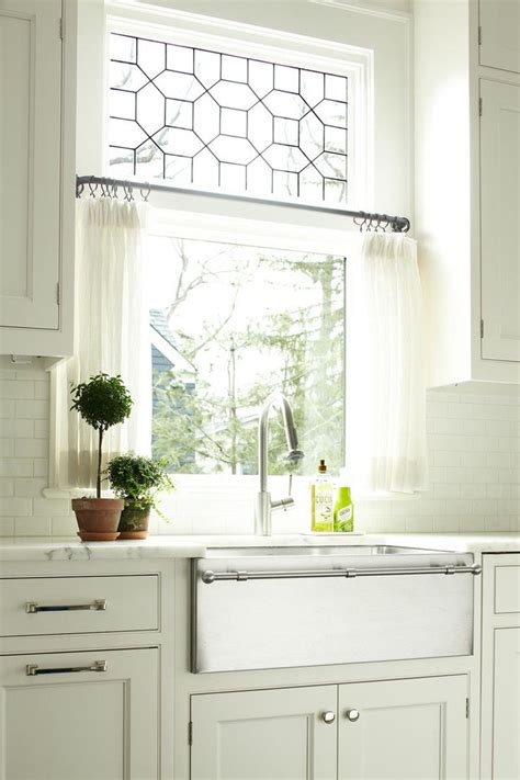 kitchen sink window treatment ideas guide to choosing curtains for your kitchen