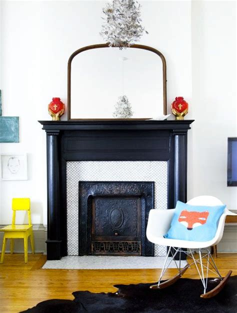 black gloss fireplace high gloss black fireplace with white tile and trim