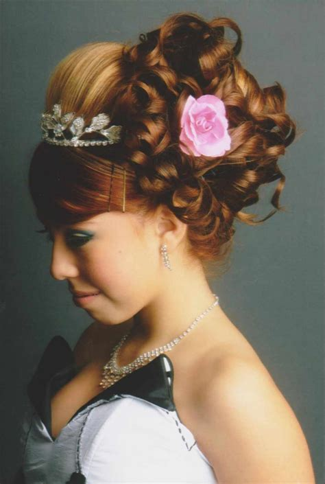 pictures  curly hairstyles quinceanera