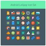 Android Icon Lollipop Icons Deviantart Tinylab Flat