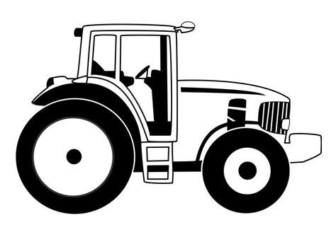 Afbeelding Tractor Kleurplaat by Kleurplaat Tractor Afb 29531