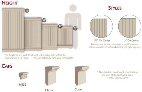 Beadboard Height Bathroom : How To Trim Beadboard Paneling