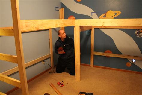 build l shaped bunk bed plan easy ways atzine com