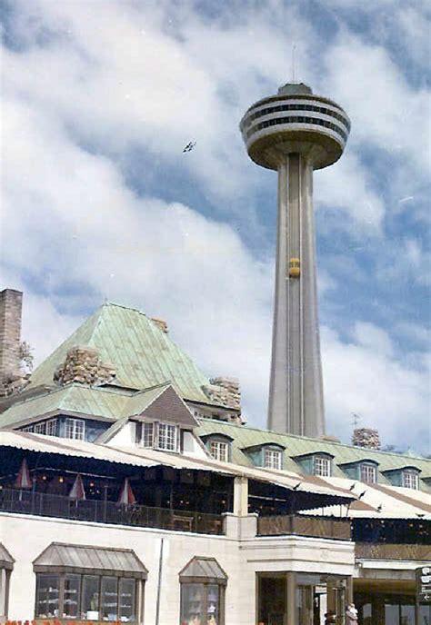 skylon tower revolving dining room niagara falls tourism