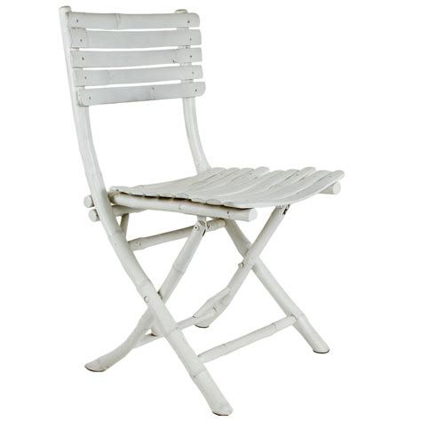 white bamboo folding chair foldable chairs chairs