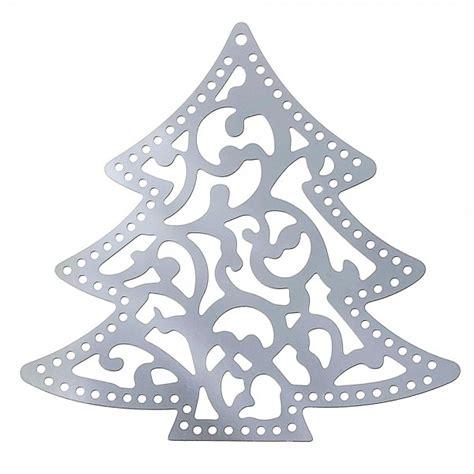 edelstahl weihnachtsbaum 41x40mm anh 228 nger weihnachten