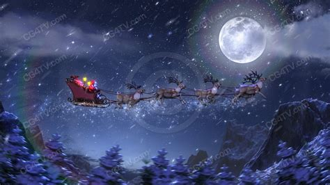 Animated Santa Wallpaper - 3d animated wallpapers wallpapersafari
