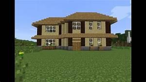 Faire Construire Une Maison : tuto2 comment faire une belle maison dans minecraft youtube ~ Farleysfitness.com Idées de Décoration