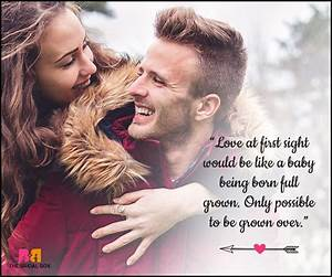 At First Sight : 20 best love at first sight quotes to share ~ A.2002-acura-tl-radio.info Haus und Dekorationen