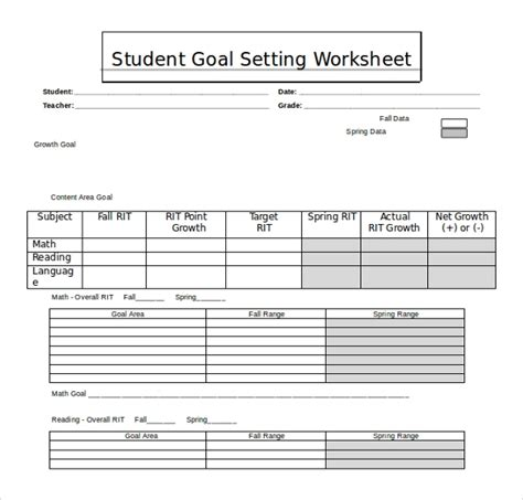 worksheet templates   ms word  format