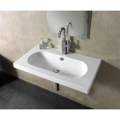 wide kitchen sink tecla edw2011 bathroom sink edo wide nameek s 1102