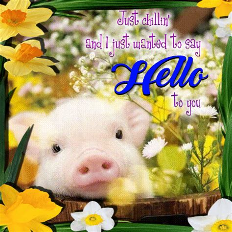 Just Wanted To Say Hello To You. Free Hi eCards, Greeting ...