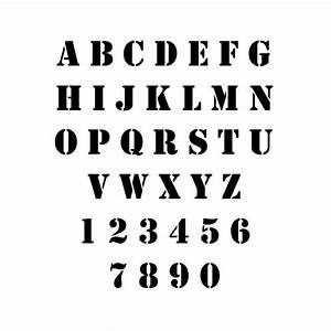 43 best a shabby stencil fonts images on pinterest fonts With army letter stencils
