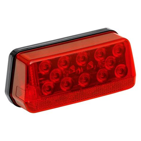 clear led trailer tail lights led waterproof right hand trailer tail light curbside
