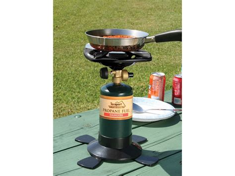 Texsport Classic Single Burner Propane Stove Wood Burning Stove Stone Wall Protection Mat Rocket Brick Oven How To Grill On A Gas Airtight Stoves Canada Porcelain Drip Pans For Whirlpool Electric Repairing Igniter Cook Sweet Corn The Stovetop