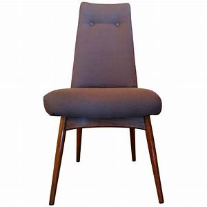 Adrian Pearsall Set Of Six Dining Chairs At 1stdibs