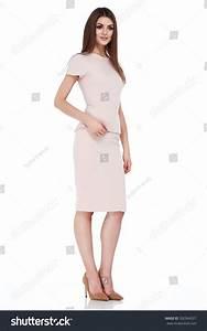 Fashion Style Woman Perfect Body Shape Stock Photo ...
