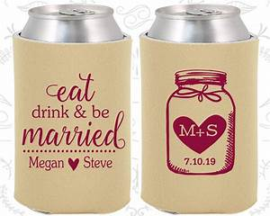 eat drink and be married favors c15 wedding keepsake mason With eat drink and be married wedding favors
