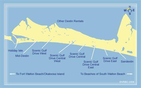 florida destin beach map sandestin water clearest rentals vacation google beaches area west fl condos condo north vrbo resort miramar