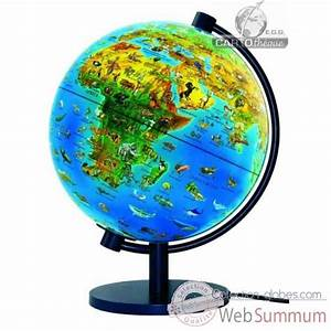 Mini Globe Terrestre : mini globe 11 cm bleu axe incline cartoth que egg slcl11bleu dans terrestre enfant ~ Teatrodelosmanantiales.com Idées de Décoration