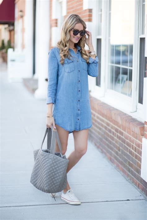 Chambray Dress - Blonde Expeditions
