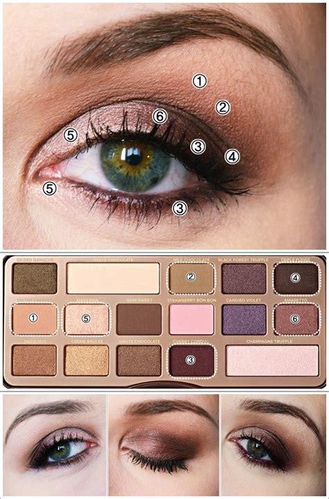 chocolate  maquillages avec la chocolate bar de  faced chocolate bar makeup makeup
