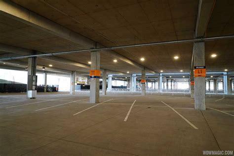 disney springs parking garage photos look inside the new disney springs west