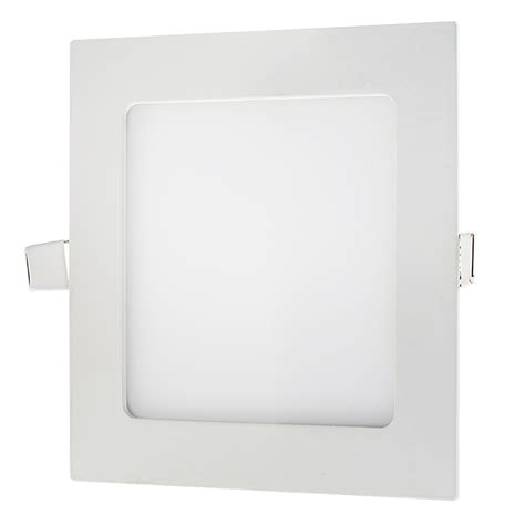 6 quot square led panel light 45 watt equivalent 575