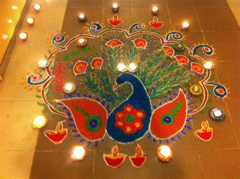 Diwali Rangoli Hd Wallpaper Free