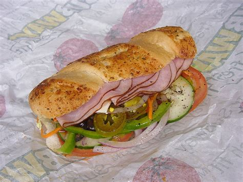 Fichiersubway 6inch Ham Submarine Sandwichjpg — Wikipédia